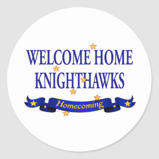 Welcome Home Knighthawks Stickers