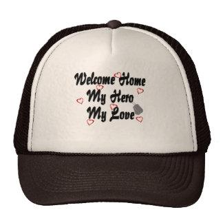 Welcome home my Hero my Love Hats
