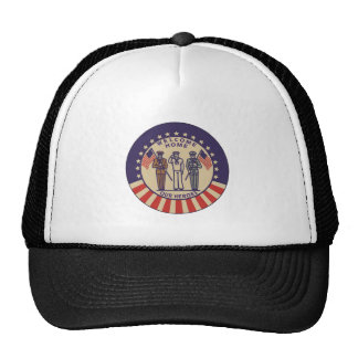 Welcome Home Our Heros Mesh Hat