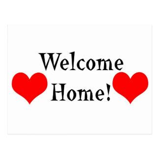 Welcome Home Postcard