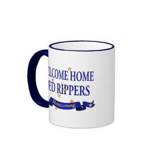 Welcome Home Red Rippers Mug