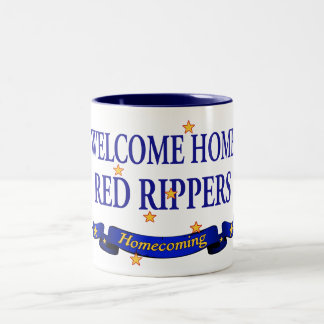Welcome Home Red Rippers Mugs