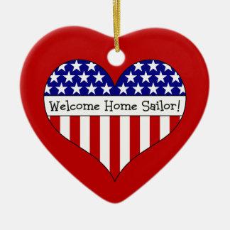 Welcome Home Sailor! Christmas Ornament