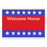 """""""Welcome Home Soldier"""" Card"""
