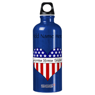 Welcome Home Soldier! SIGG Traveller 0.6L Water Bottle