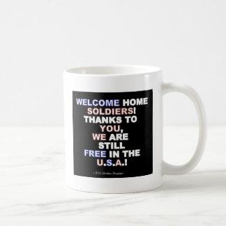 WELCOME HOME SOLDIERS! BASIC WHITE MUG