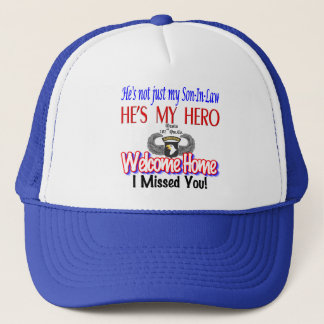 Welcome Home Son-In-Law Products Cap