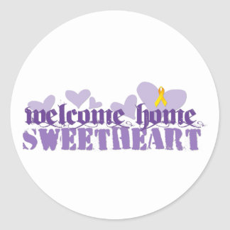 Welcome Home Stickers