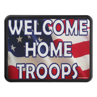 Welcome Home Troops Hitch Cover - Celebrations Hitch Cover