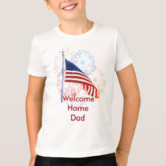 Welcome Home Troops T-shirt