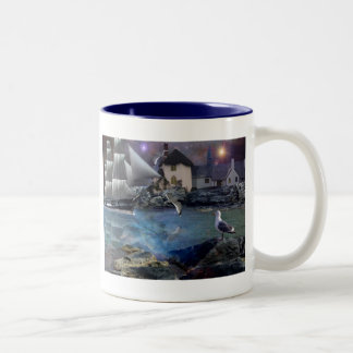 Welcome home.. Two-Tone coffee mug