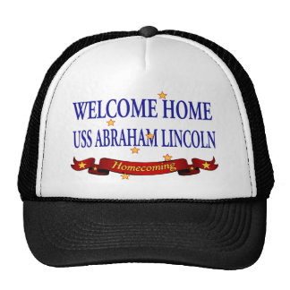 Welcome Home USS Abraham Lincoln Cap