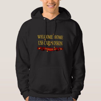Welcome Home USS Carl Vinson Hoodie