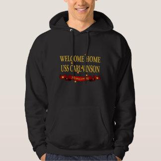 Welcome Home USS Carl Vinson Sweatshirts