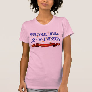 Welcome Home USS Carl Vinson T-Shirt