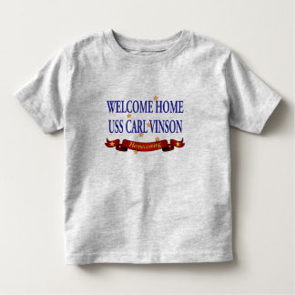 Welcome Home USS Carl Vinson T-shirts