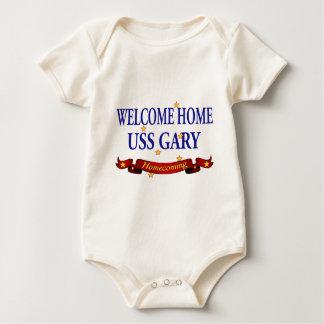Welcome Home USS Gary Baby Bodysuit