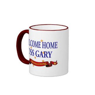 Welcome Home USS Gary Ringer Mug