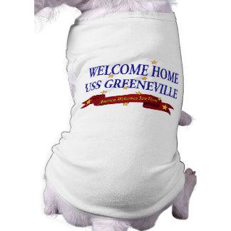 Welcome Home USS Greeneville Sleeveless Dog Shirt