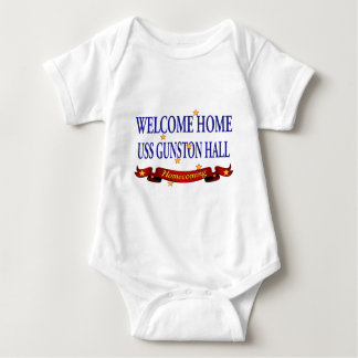 Welcome Home USS Gunston Hall Baby Bodysuit