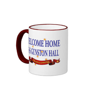 Welcome Home USS Gunston Hall Ringer Mug