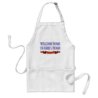 Welcome Home USS Harry S. Truman Standard Apron