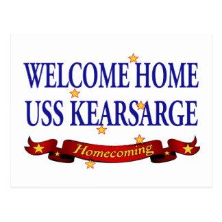 Welcome Home USS Kearsarge Postcard