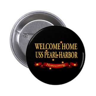 Welcome Home USS Pearl Harbor 6 Cm Round Badge