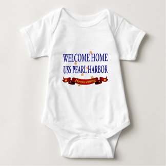 Welcome Home USS Pearl Harbor Baby Bodysuit