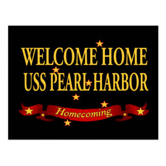 Welcome Home USS Pearl Harbor Postcard