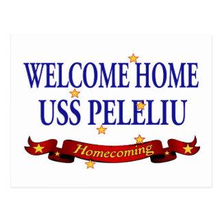Welcome Home USS Peleliu Postcard