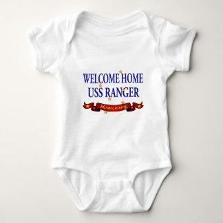 Welcome Home USS Ranger Baby Bodysuit
