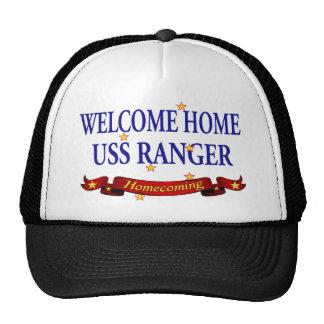 Welcome Home USS Ranger Cap