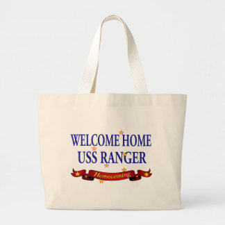 Welcome Home USS Ranger Jumbo Tote Bag