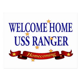 Welcome Home USS Ranger Postcard