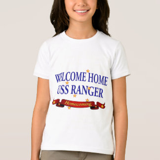 Welcome Home USS Ranger T-shirts