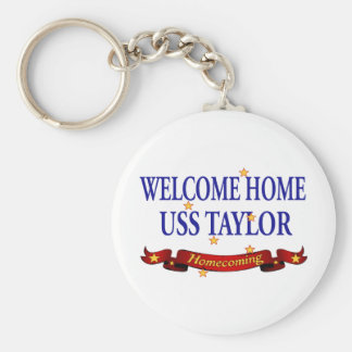 Welcome Home USS Taylor Keychain