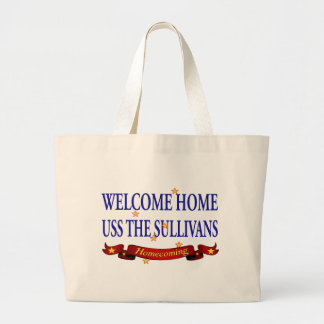 Welcome Home USS TheSullivans Bags