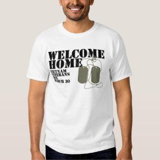 Welcome Home Vietnam Veteran Day Shirts