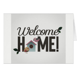 "****WELCOME HOME**** YOU WERE ""MISSED"" CARD"