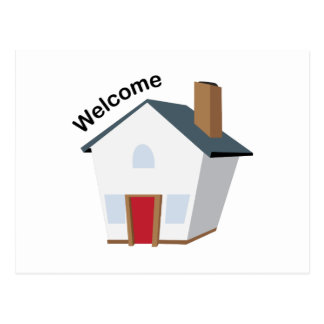 Welcome House Postcard