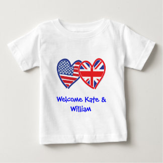 Welcome Kate & William/ Royal Wedding T Shirts