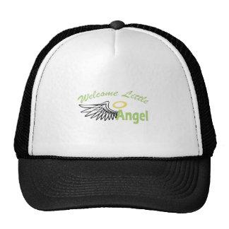 WELCOME LITTLE ANGEL TRUCKER HATS