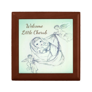 Welcome Little Cherub Gift Box