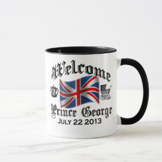 Welcome Prince George July 22 Mug