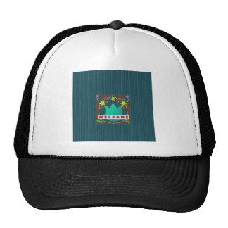 WELCOME Reception Event Management GIFTS Dress Mesh Hat