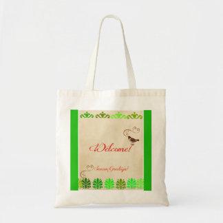 Welcome Season Greetings Tote Bag