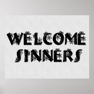Welcome Sinners! Print