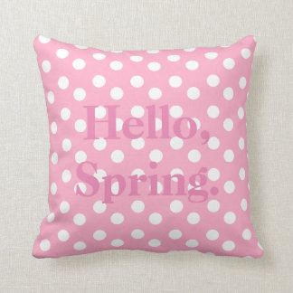 Welcome, Spring Accent Pillow Throw Cushions