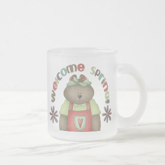 Welcome Spring · Bear & Wordart Mugs